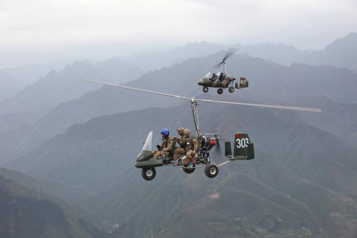 猎鹰三座旋翼机