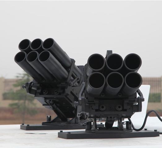 车载式64毫米6管发射器