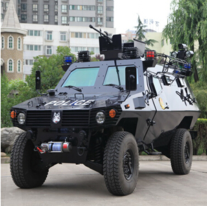 """(for police use)""""野狼""""(armored vehicle)"""