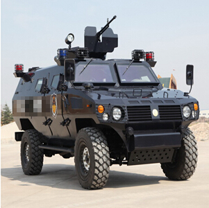 """(for police use)""""虎士""""(armored vehicle)"""